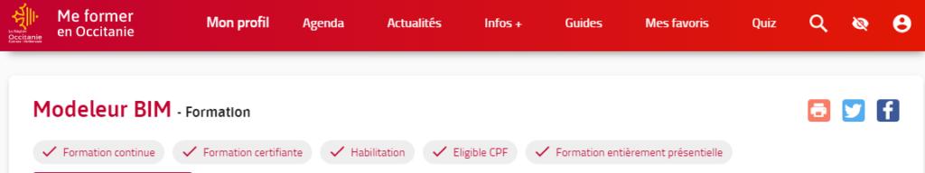 Formation Revit - Académie du BIM Toulouse Occitanie